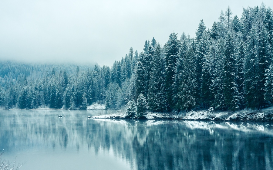 winter-lake
